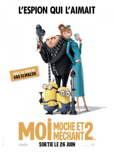 Cine974, Moi, moche et méchant 2