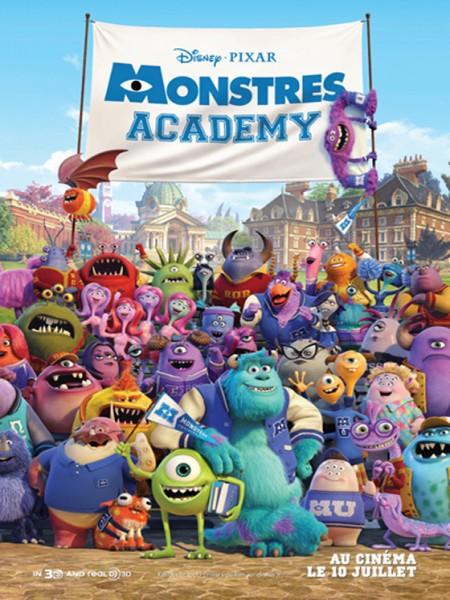 Cine974, Monstres Academy