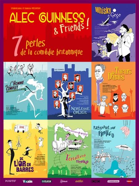 Cine974, My British Comedies - Alec Guinness & Friends