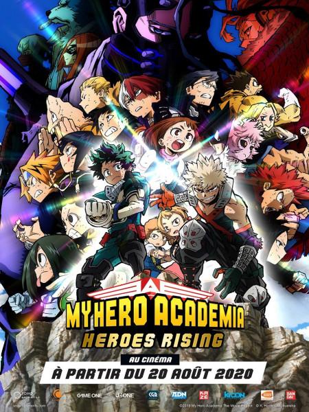 Cine974, My Hero Academia : Heroes Rising