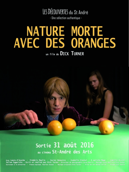 Cine974, Nature morte avec des oranges