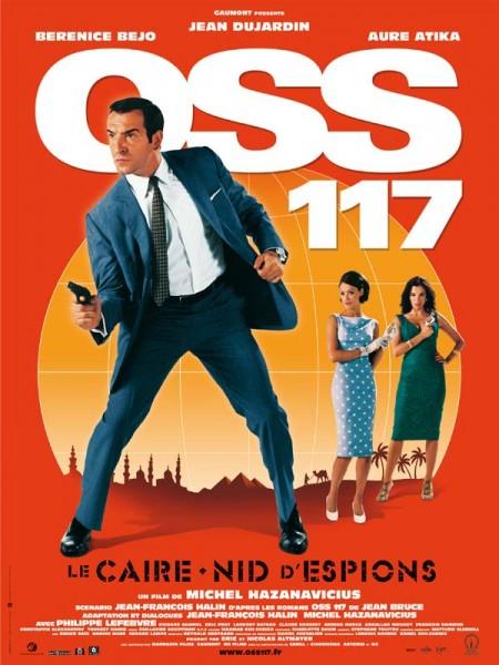Cine974, OSS 117, Le Caire nid d'espions