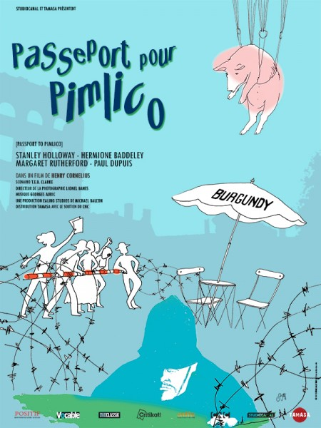 Cine974, Passeport pour Pimlico