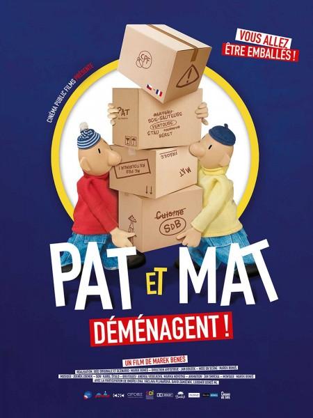 Cine974, Pat et Mat déménagent !