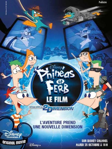 Cine974, Phinéas et Ferb - Le Film