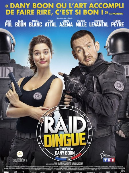 Cine974, Raid dingue