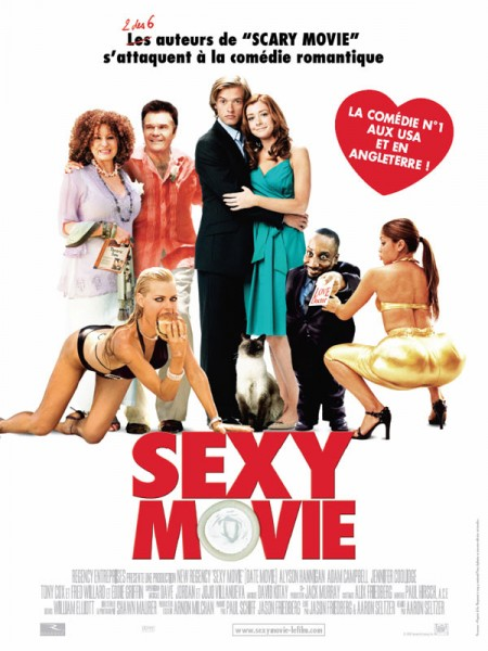 Cine974, Sexy movie