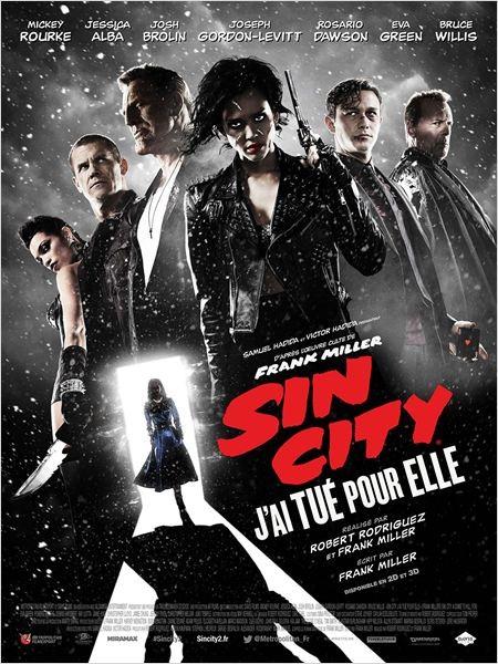 Cine974, SIN CITY  J'AI TUE POUR ELLE