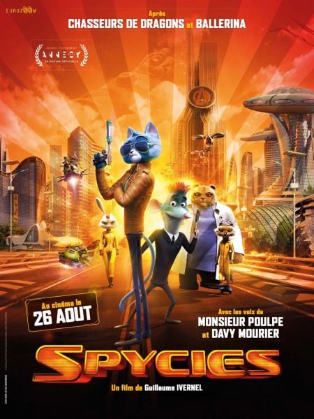 Cine974, Spycies