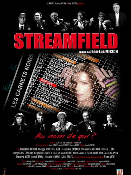 Cine974, Streamfield les carnets noirs