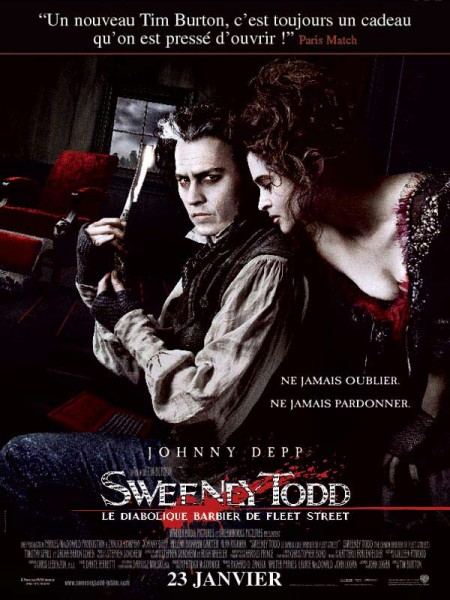 Cine974, Sweeney Todd, le diabolique barbier de Fleet Street