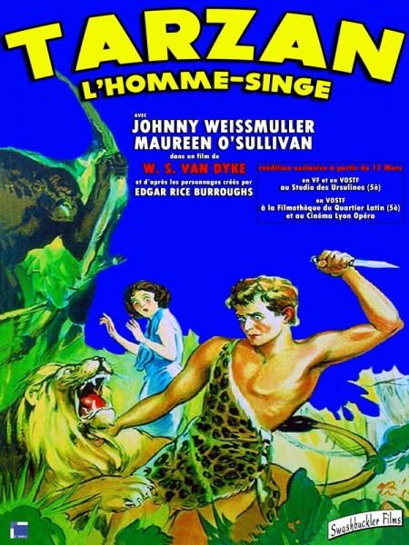 Cine974, Tarzan, l'homme singe
