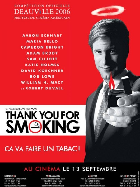 Cine974, Thank you for smoking