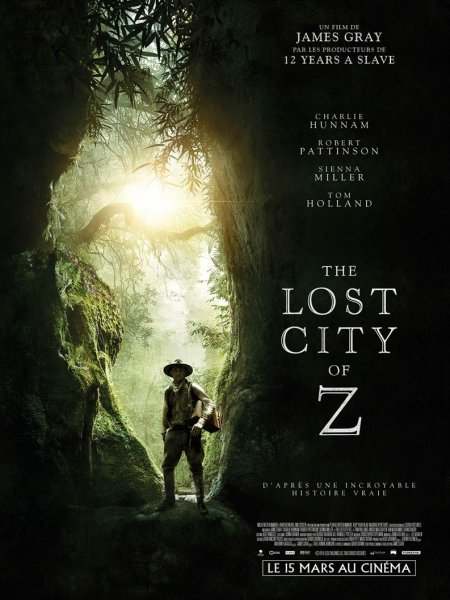 Cine974, The Lost City of Z