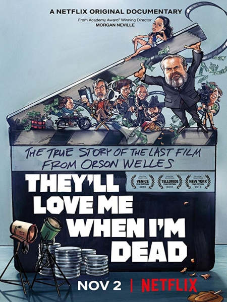Cine974, They'll Love Me When I'm Dead