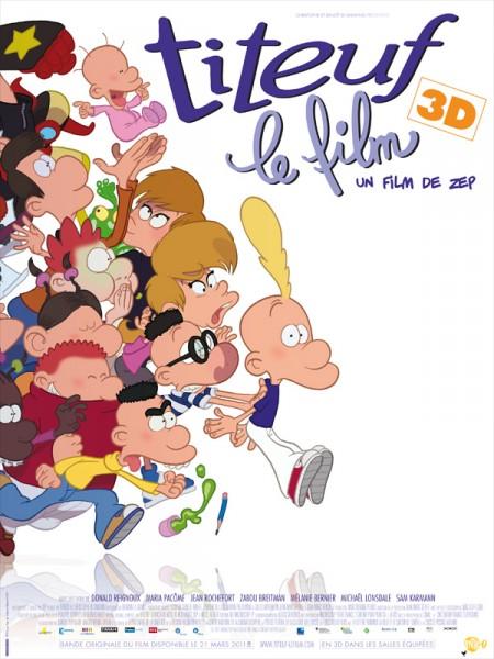 Cine974, Titeuf, le film (3D)
