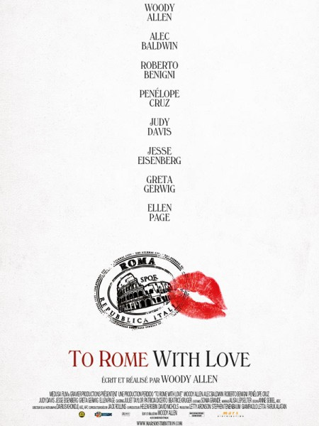 Cine974, To Rome with Love