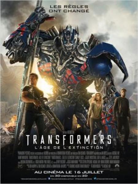 Cine974, Transformers : L'âge de l'extinction