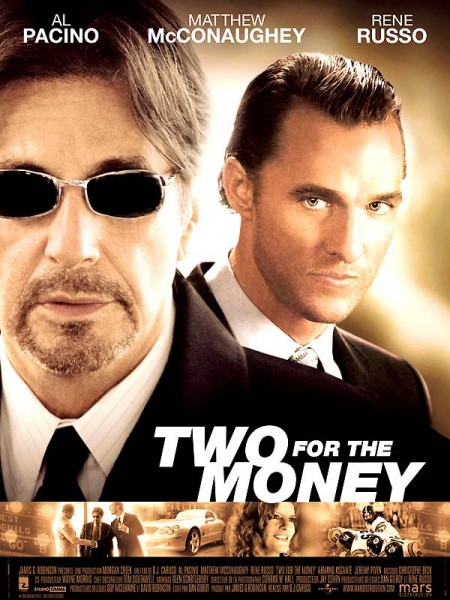 Cine974, Two for the Money