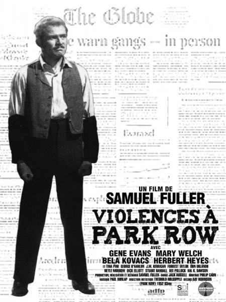 Cine974, Violences a Park Row