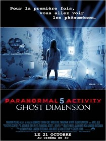 Cine974, Paranormal Activity 5 Ghost Dimension