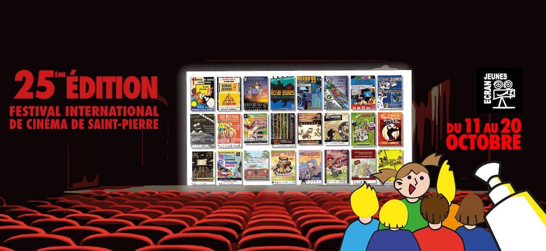 25ème Edition du Festival International de Cinéma de la ville de Saint-Pierre, au cinéma Moulin à Café du 11 au 20 octobre 2019