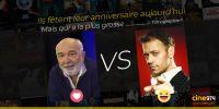 Aujourd'hui deux grands acteurs fêtent leur anniversaire : Gérard Jugnot et Rocco Siffredi