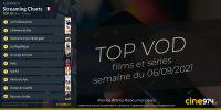 TOP 10 Films Et Séries En SVOD En France / Semaine Du 6 Septembre 2021