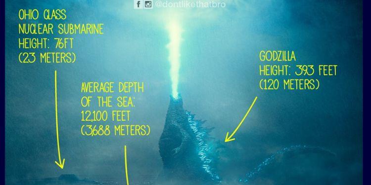 #Godzilla actuellement au cinéma à #LaReunion