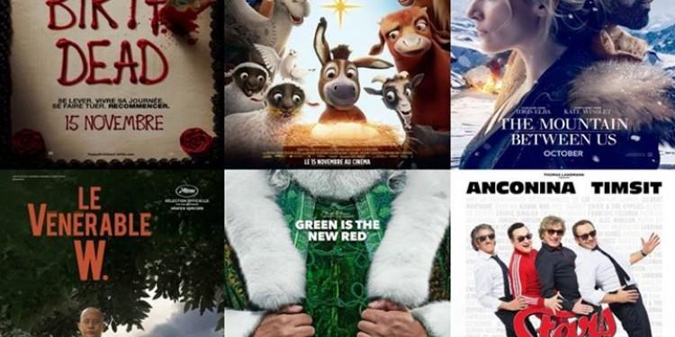 ? Les sorties cinéma du mercredi 6 décembre et le programme...
