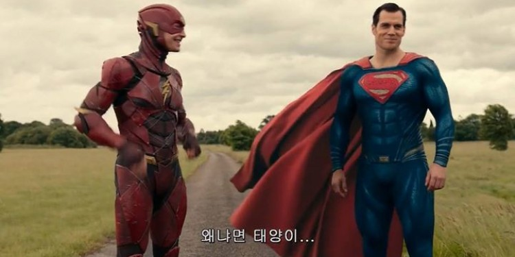 #JusticeLeague Flash vs Superman. Qui est le plus rapide ?