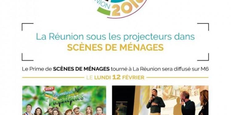 Retour positif sur le tournage de Scènes de Ménages à La Réu...