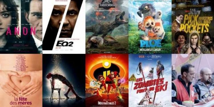 🎬👁️ Equalizer 2 🖖, Jurassic World 2 🦖, Deadpool 2 ...