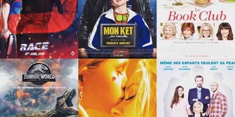 ?Les sorties #cinema du mercredi 20 juin 2018 et le programme...