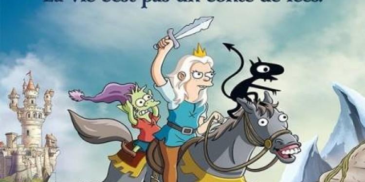 Désenchantée, la nouvelle série de Matt Groening.