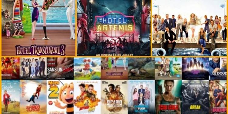 Les sorties #cinema du mercredi 25 juillet à La Réunion