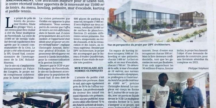 Prochainement à Pierrefonds : 15000m2 de loisirs