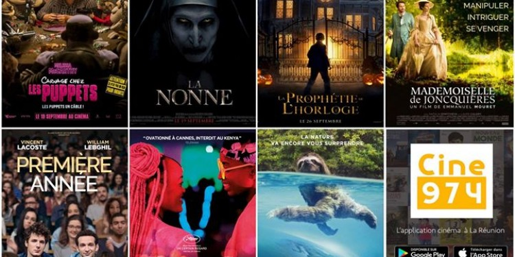 Les sorties #cinema du mercredi 26 septembre à #LaReunion