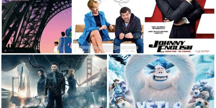 Les sorties #cinema du mercredi 10 octobre à La Réunion