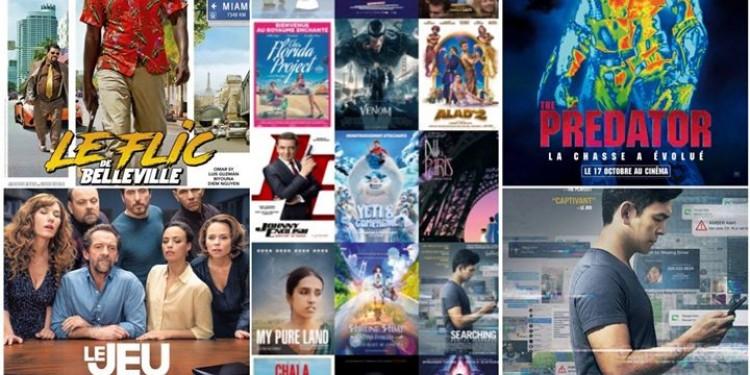 Les sorties #cinema du mercredi 17 octobre à La Réunion