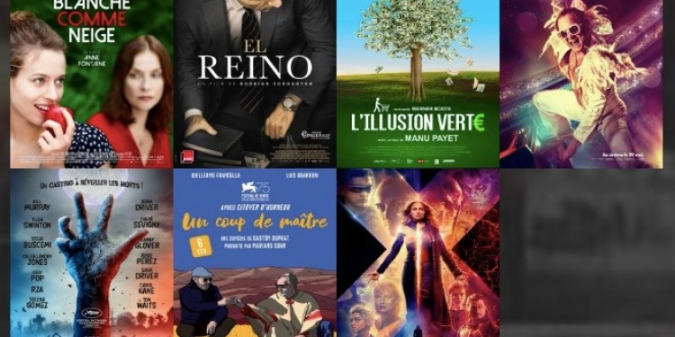 Les #sorties #cinema du mercredi 5 juin 2019 à #LaReunion