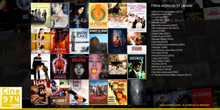 Films sortis un 31 janvier