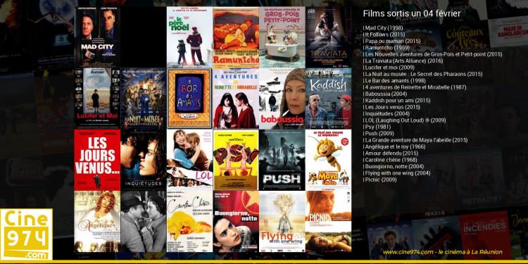 Films sortis un 04 février