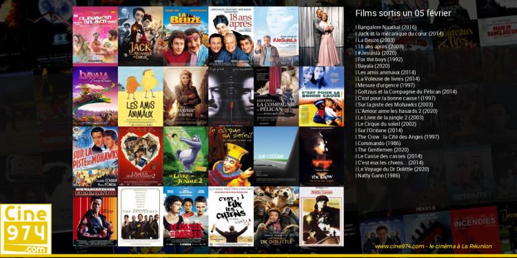 Films sortis un 05 février