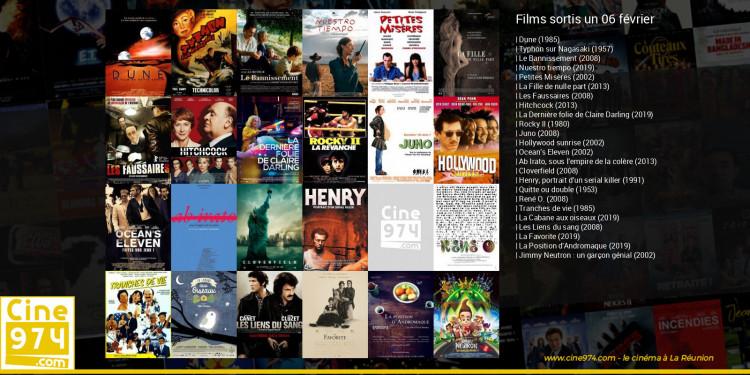 Films sortis un 06 février