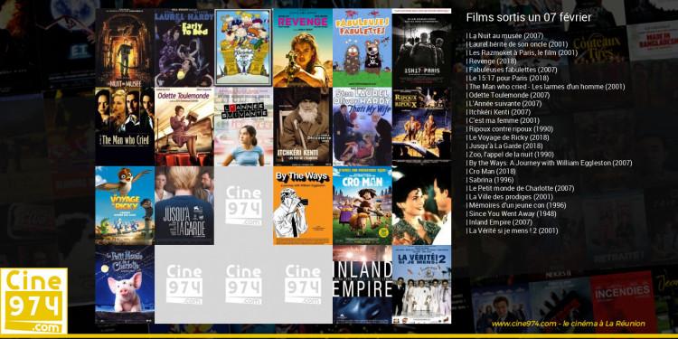 Films sortis un 07 février