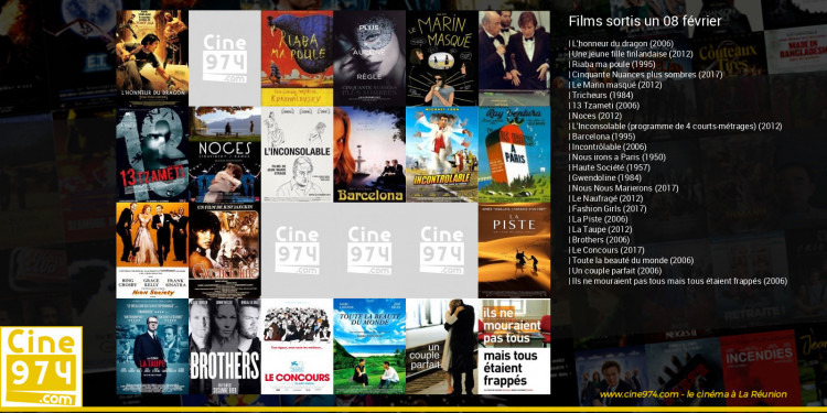 Films sortis un 08 février