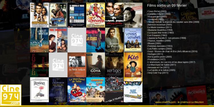 Films sortis un 09 février