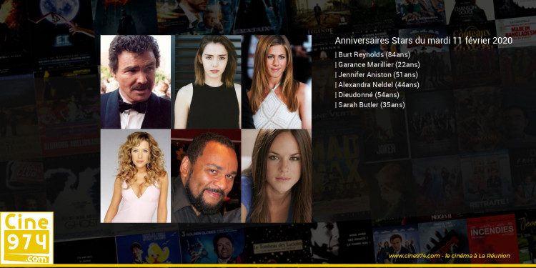 Anniversaires des acteurs du mardi 11 février 2020