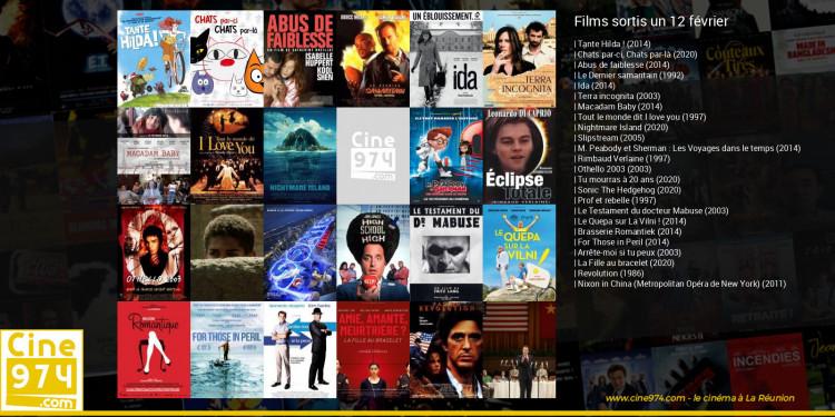Films sortis un 12 février